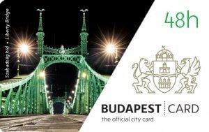 Budapest Card 48 pour visite Budapest