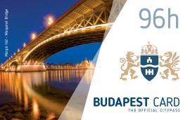 Budapest card 96h