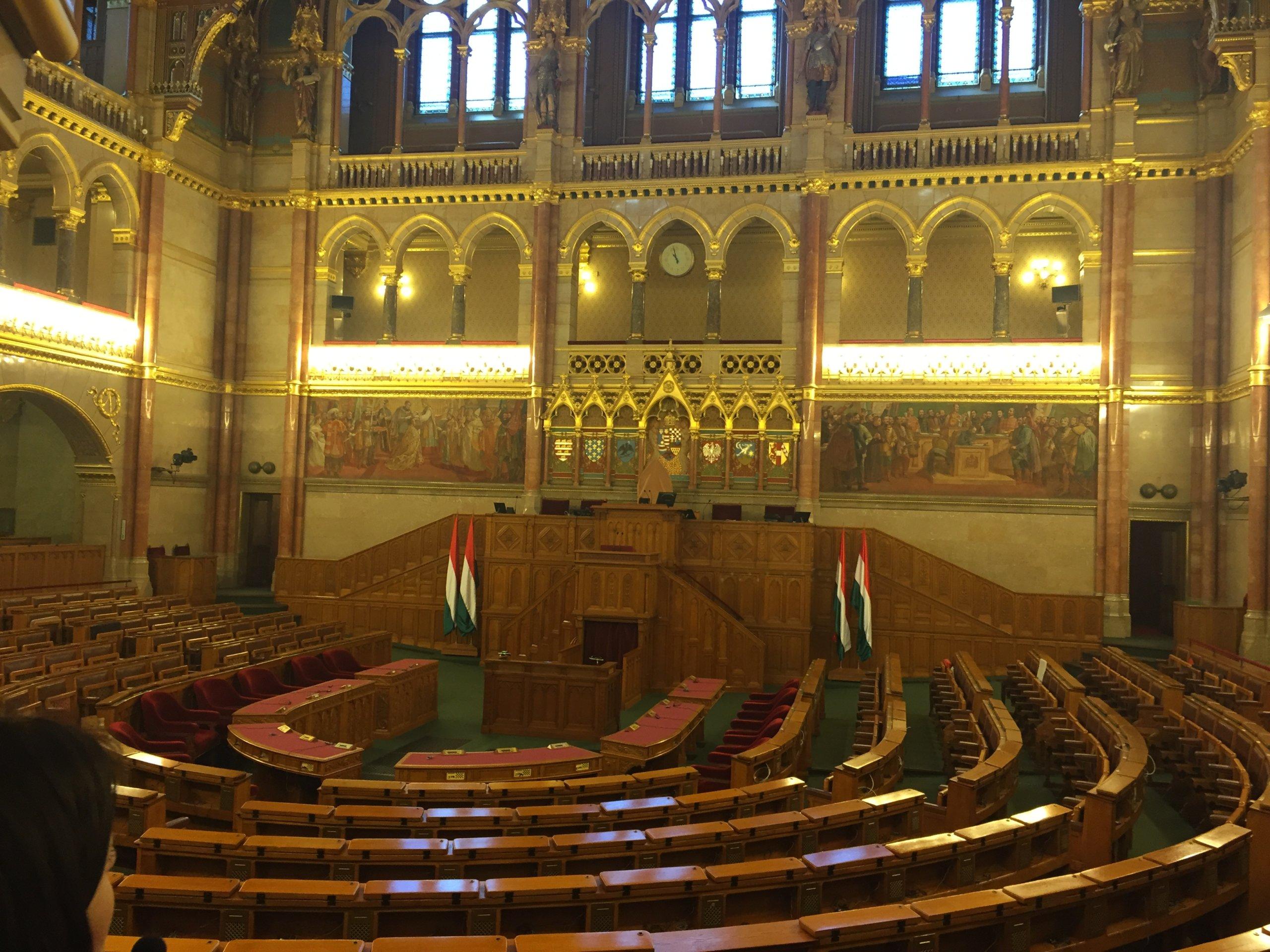 Visite Parlement Hongrois Budapest