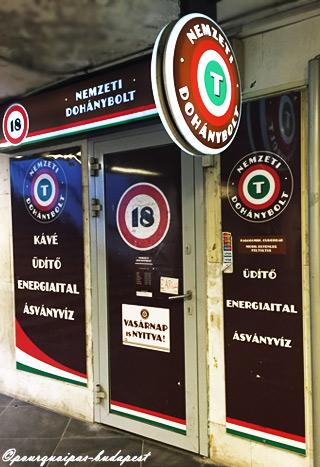 Bureau tabac Budapest
