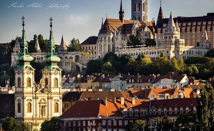 La colline du château Budapest