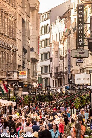 Fashion Street Budapest centre