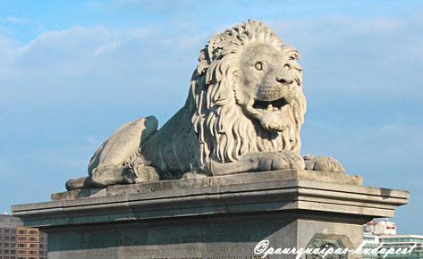 Lion du pont des chaînes