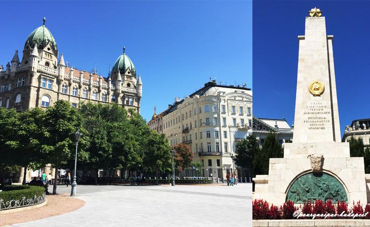 Place de la liberté Budapest