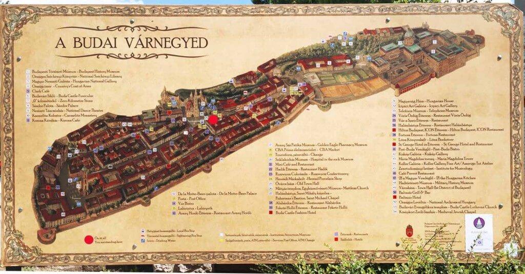Plan de château de Buda