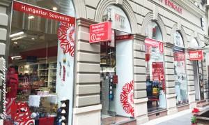 Boutique de souvenirs à Budapest