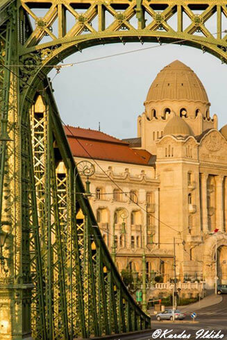 Gellert et le Pont Liberté