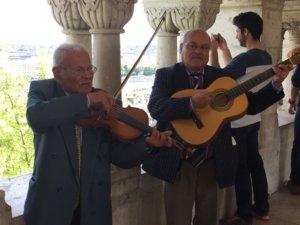 Musiciens tsigane au château Budapest