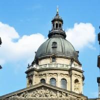 La Basilique Saint Etienne à Budapest centre