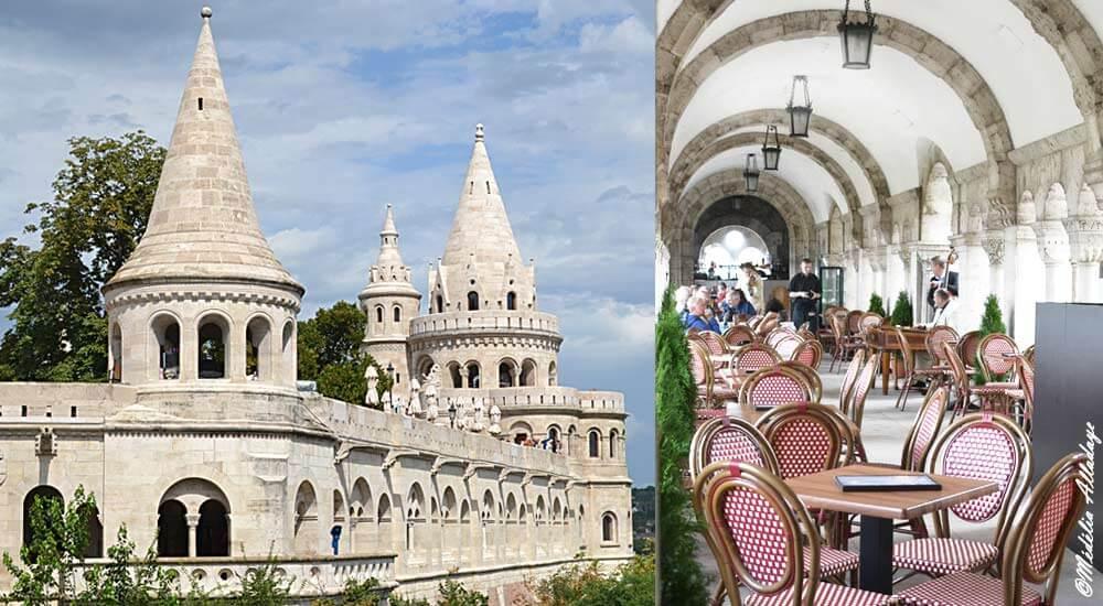 Le Bastion des pêcheurs au château de Budapest