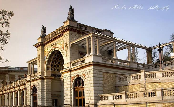 Bazar du jardin de palais entrée