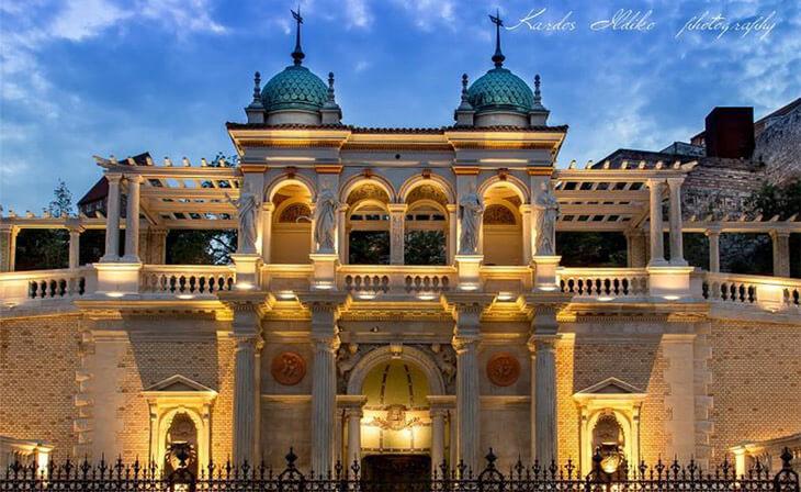 Bazar du jardin de palais nuit