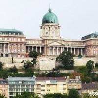 Château de Budapest vue depuis Pest