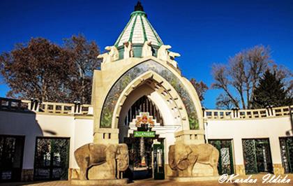 L'entrée de Zoo de Budapest