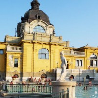 Bains thermaux Budapest Széchenyi