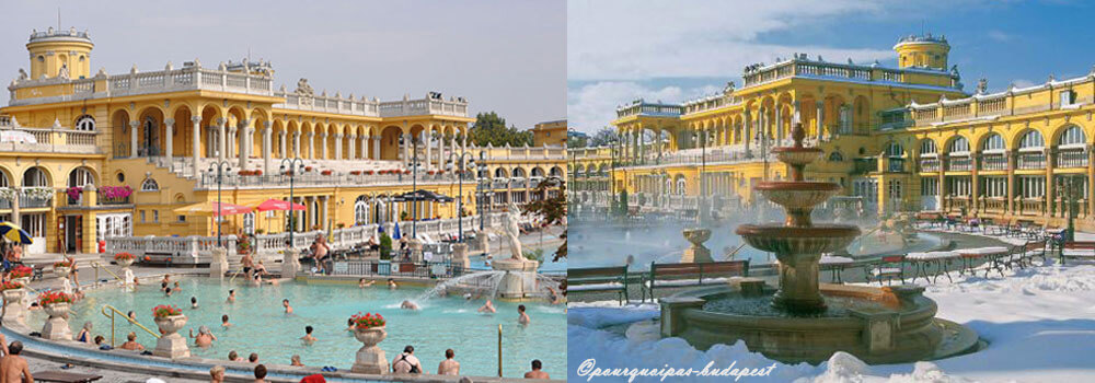 Bains thermaux budapest les thermes sz chenyi for Thermes bains les bains