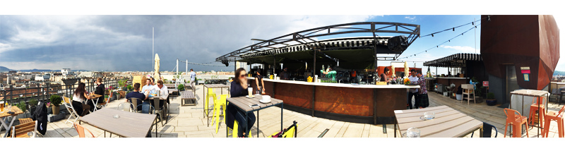 Bar 360° à Budapest