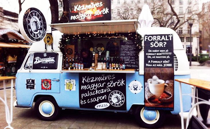 Budapest restaurants, bars et cafés en centre-ville