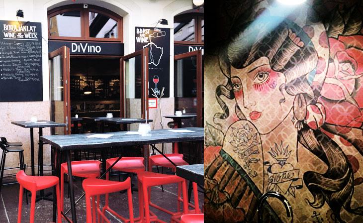 DiVino à Gozsdu Budapest