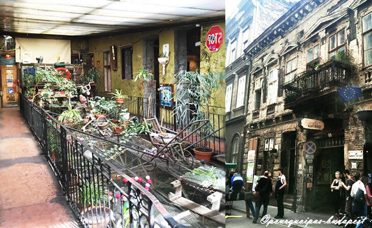Ruins bars à Budapest