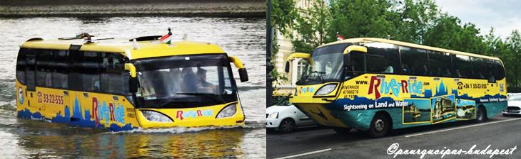 Visite originale Budapest en bateau bus