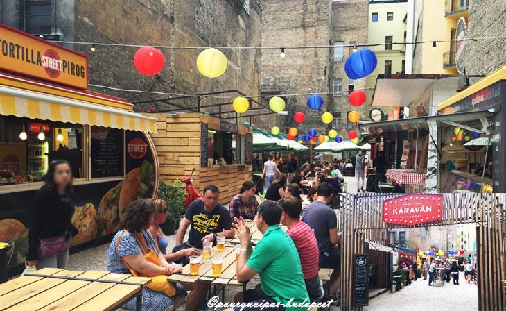 Food trucks à Budapest