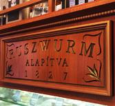 Pâtisserie Ruszwurm au château de Buda
