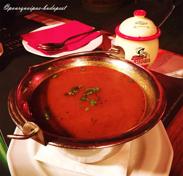 Soupe Goulash ou Gulyas