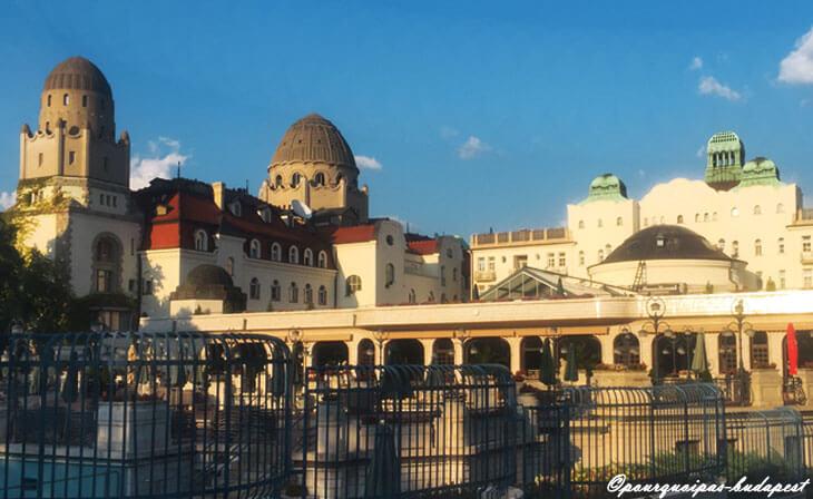 Piscines de bains Gellért à Budapest