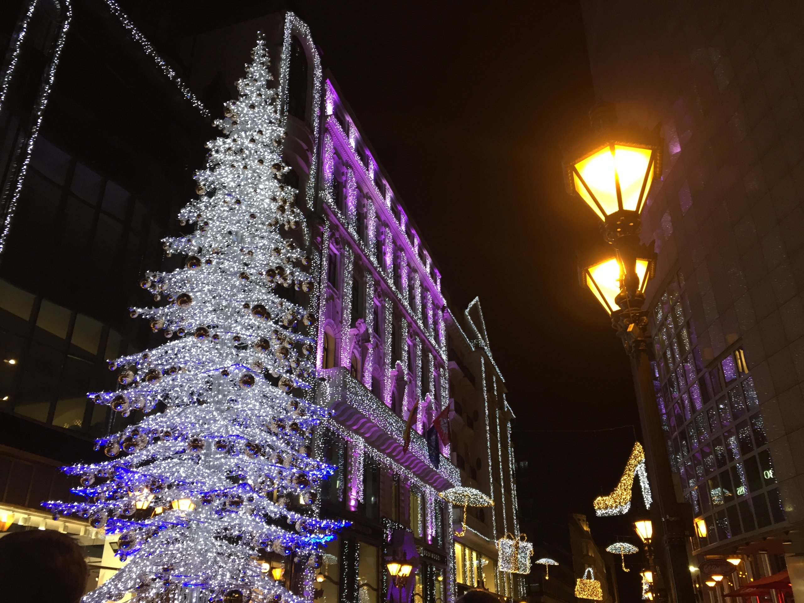 Déco Noël à Budapest