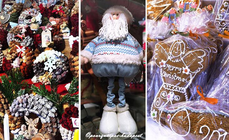 Cadeaux de Noël Budapest Vörösmarty