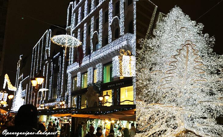 Décoration Noël à Budapest