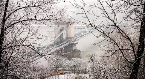 budapest-hiver - Photo