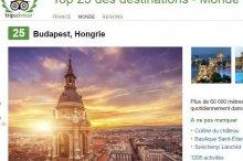 Budapest selon tripadvisor