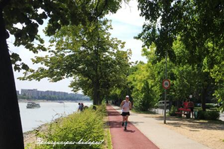 Courir à Budapest