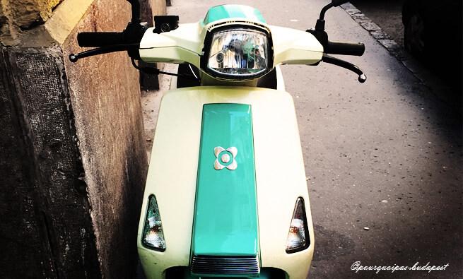 Visiter Budapest en scooter
