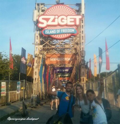 Avis Sziget Festival Budapest