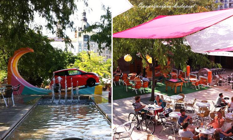 Bars en plein air Budapest Akvarium