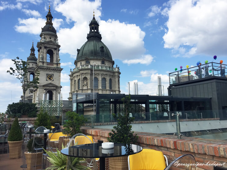 Budapest rooftop Aria Hotel