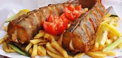 Hekk ou merlu frit à Budapest