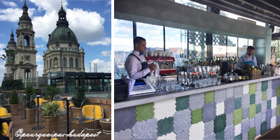 Rooftop bars à Budapest