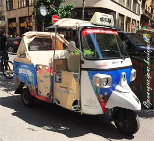 Visite en Tuktuk Budapest