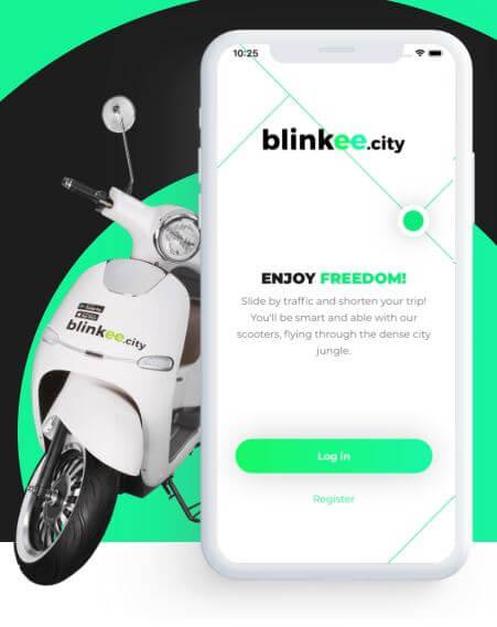 scooter en libre service budapest
