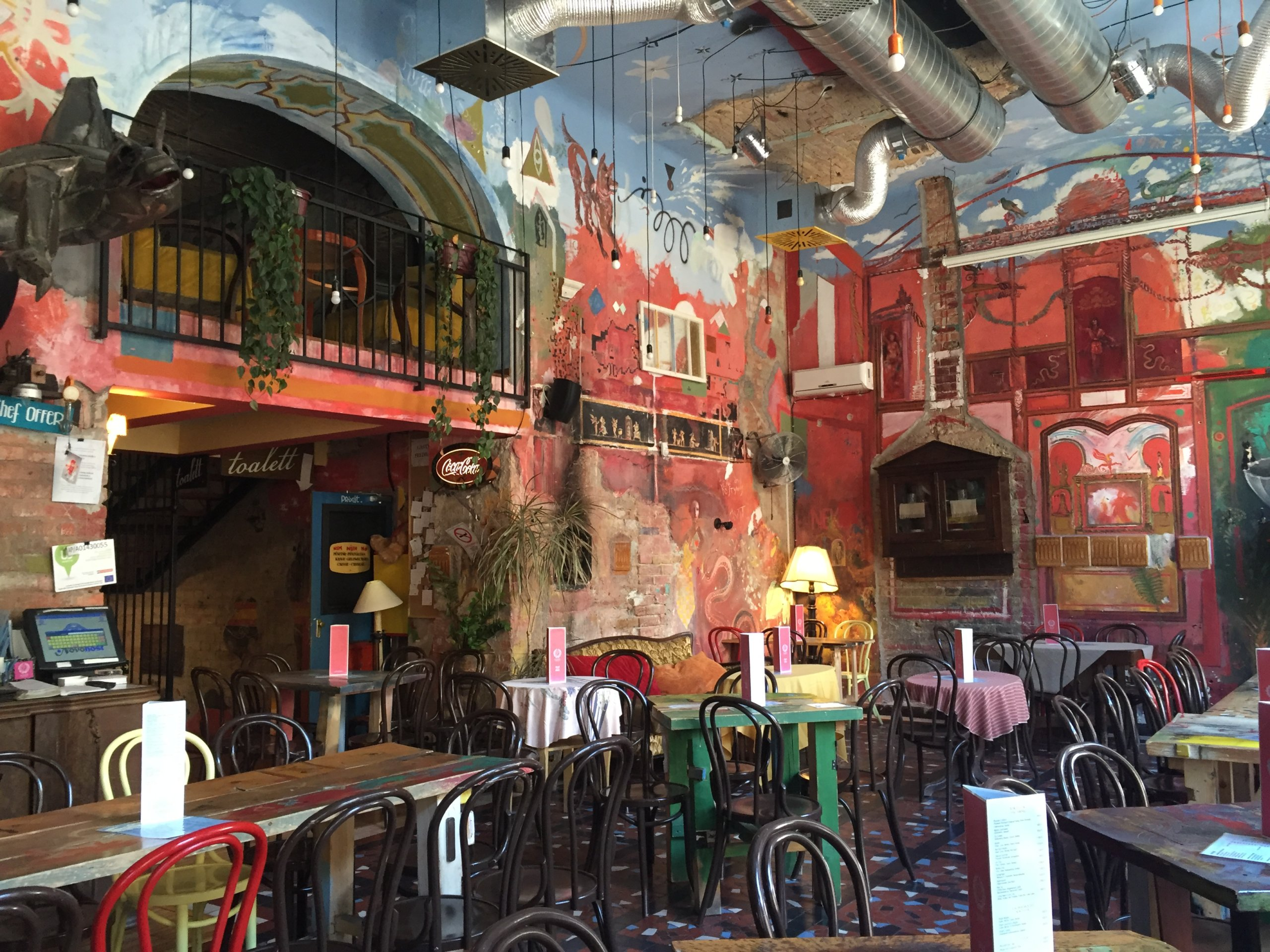 Puder ruin bar Budapest