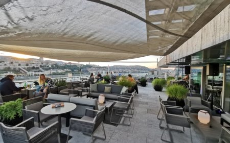 Roof top Mariott Budapest