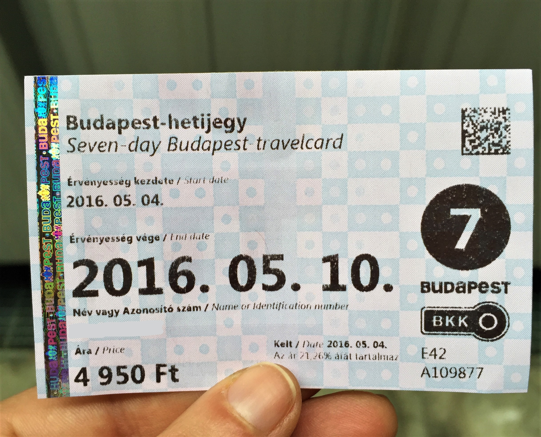 Abonnement transports Budapest