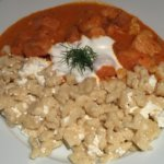 Borjúpaprikás - Restaurant Menza