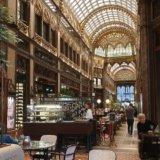 Parisi Udvar cafe Budapest